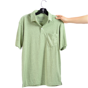 Recover - Men's Sport Polo T-Shirt - Heather Green