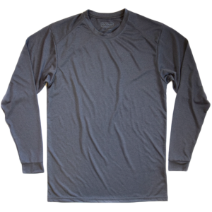 Recover - Men's Sport Long Sleeve T-Shirt - Heather Black