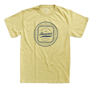 Recover - Men's Mill Graphic Tee - Pilsner