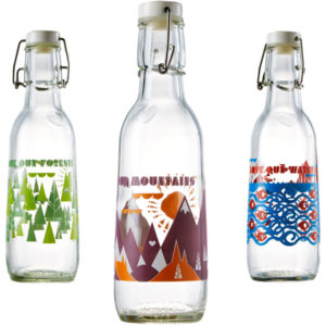 EarthHero - Love Our Earth Recycled Glass Water Bottle  - 1