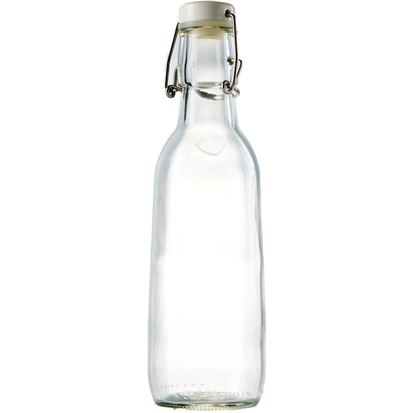 EarthHero - All Clear Recycled Glass Water Bottle  - 1