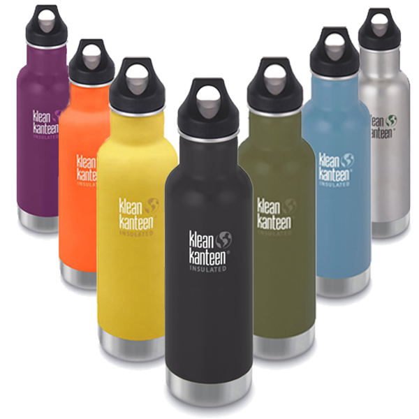 bf25f594c91 Classic Insulated Stainless Steel Water Bottle 20oz | Klean Kanteen