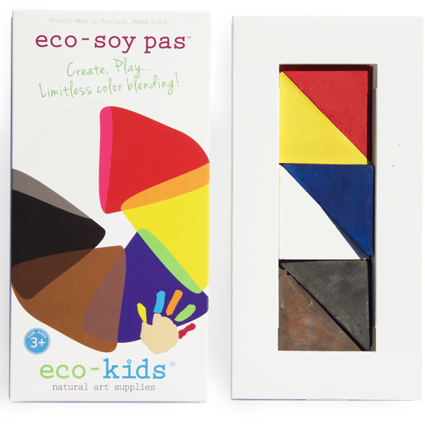EarthHero - eco-soy pas Pastel Crayons - 2