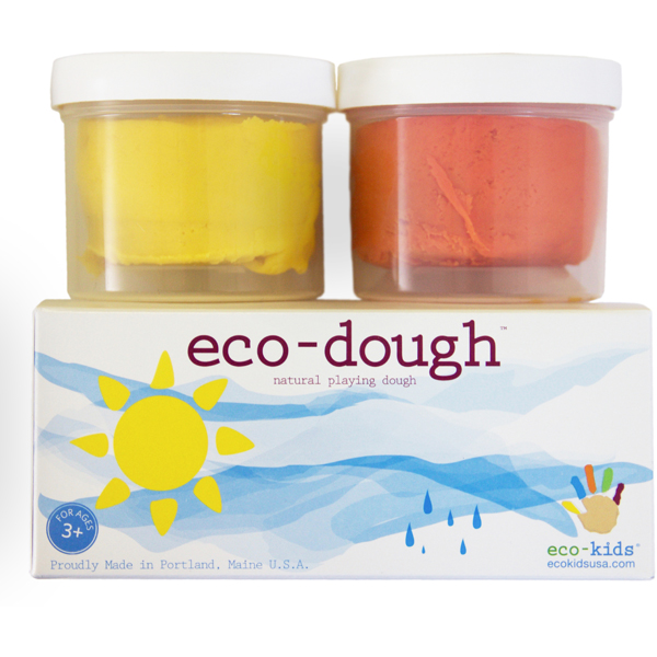 EarthHero - eco-dough Non-Toxic Play Dough (2 pk) - Sun