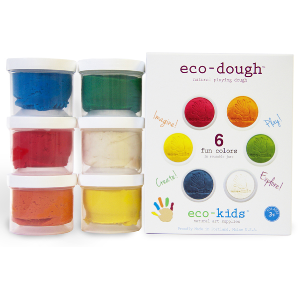 EarthHero - eco-dough Non-Toxic Play Dough 6 Pack