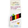 EarthHero - eco-crayon Beeswax Crayon Sticks - 10 Pack