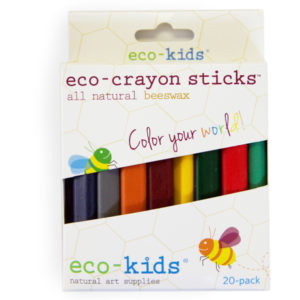 EarthHero - eco-crayon Beeswax Crayon Sticks - 20 Pack