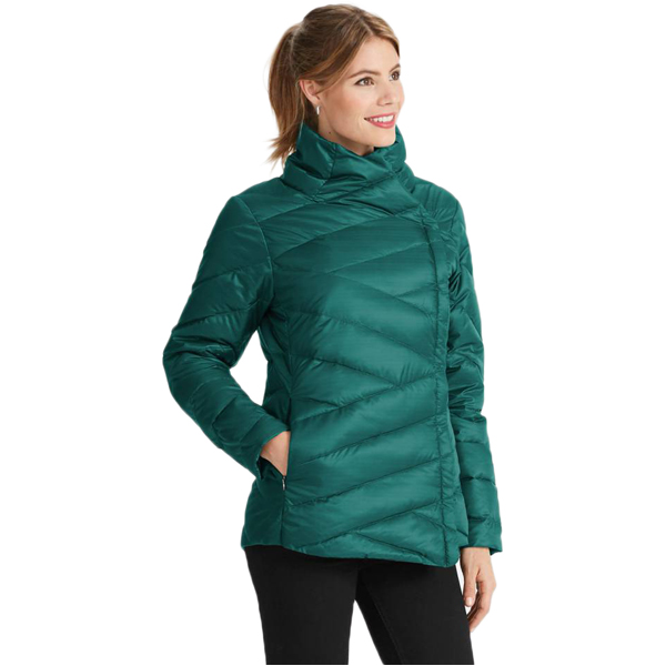 EarthHero - Women's Intersect Quilted Down Jacket - 2