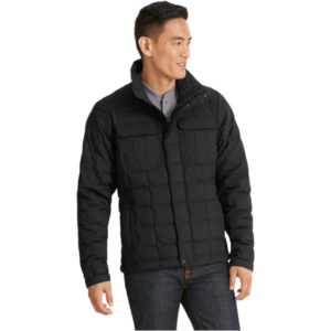 EarthHero - Men's Utility Quilted Down Jacket - Caviar - XL