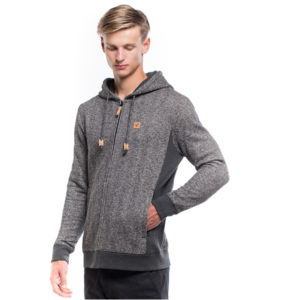 EarthHero - Eco-Blend Arawin Zip Up Hoodie - XL