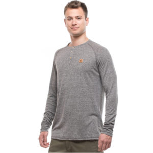 EarthHero - Boulder Long Sleeve Hemp Henley - XL