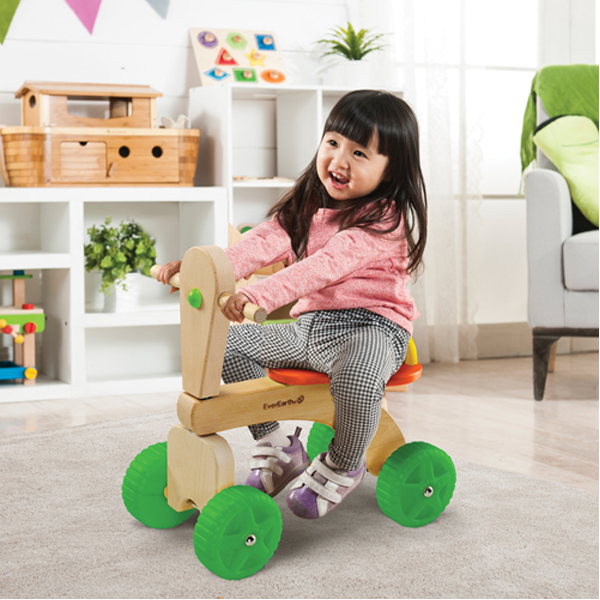 EarthHero - EverEarth Wooden Kids Play Trike 3