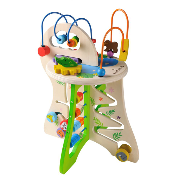 EarthHero - EverEarth Safari Toddler Activity Center 1