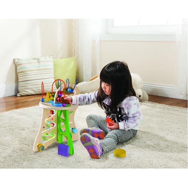 EarthHero - EverEarth Safari Toddler Activity Center 3