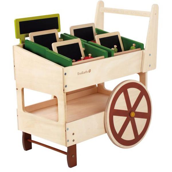EarthHero - EverEarth Play Kids Food Cart 1