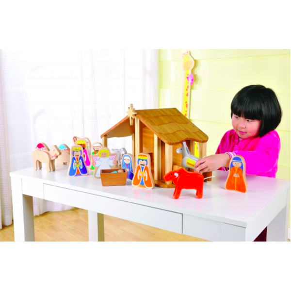EarthHero - EverEarth Kids Nativity Set 3