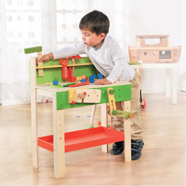 EarthHero - EverEarth Carpenters Kids Play Workbench 3