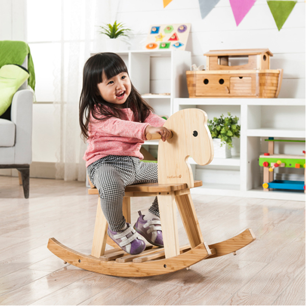 EarthHero - EverEarth Bamboo Kids Rocking Horse 3