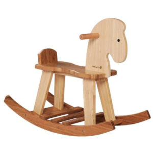 EarthHero - EverEarth Bamboo Kids Rocking Horse 1