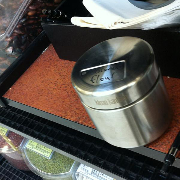 EarthHero - Brushed Stainless Steel Food Canister 16oz 3