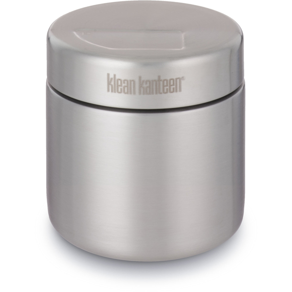 EarthHero - Brushed Stainless Steel Food Canister 16oz 1