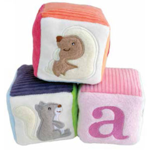 EarthHero - Woodland Soft Baby Blocks Set