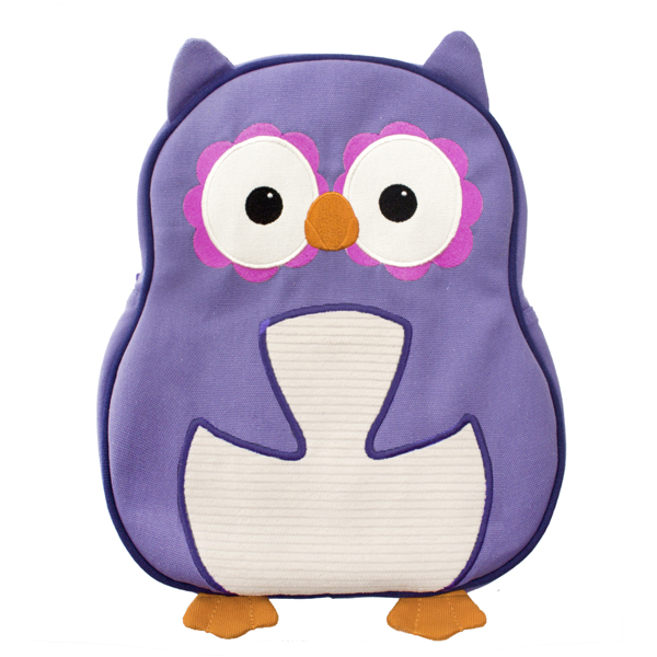 EarthHero - Purple Owl Little Kids Backpack 1
