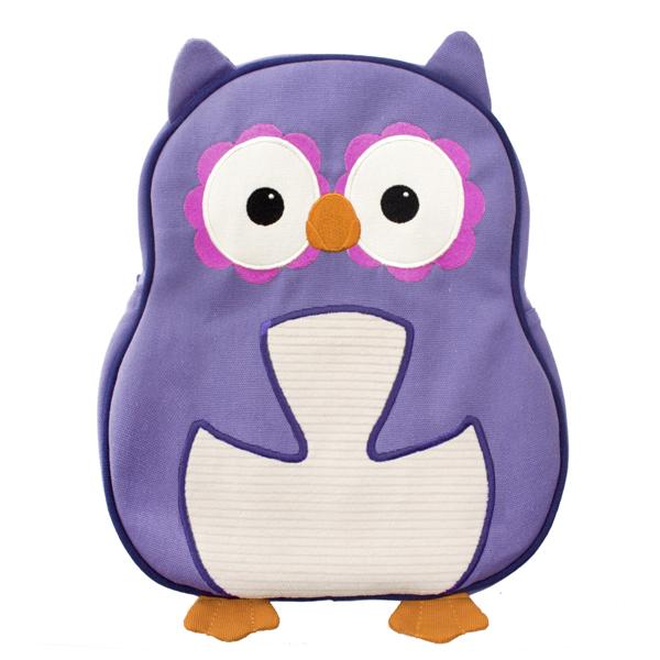 EarthHero - Purple Owl Little Kids Backpack 1