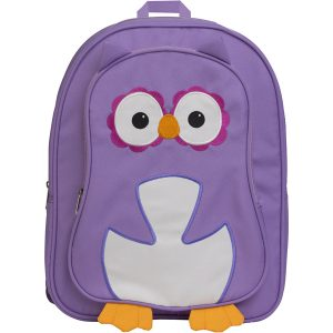 EarthHero - Purple Owl Childrens Backpack