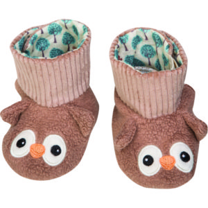 EarthHero - Owl Baby Booties