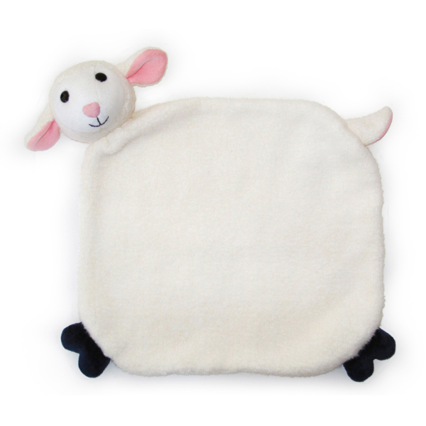 EarthHero - Lamby Picnic Pal Stuffed Animal Blanket 1