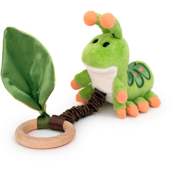 EarthHero - Caterpillar Crawling Critter Teething Toy 1