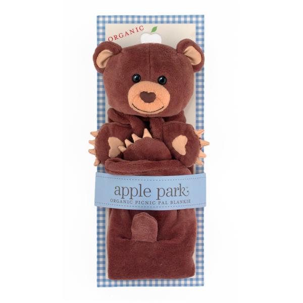 EarthHero - Cubby Picnic Pal Stuffed Animal Blanket 2
