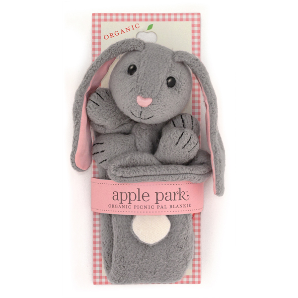 EarthHero - Bunny Picnic Pal Stuffed Animal Blanket 2