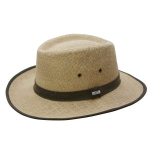 EarthHero - Hemp Sun Shade Panama Hat - 1