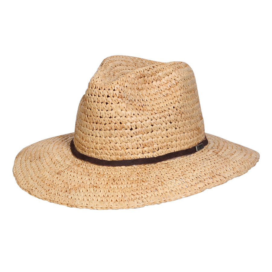 EarthHero - Brays Beach Raffia Straw Hat - 1