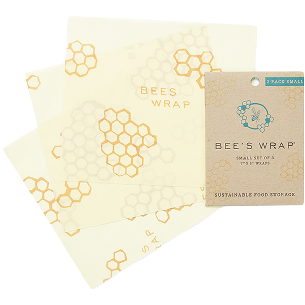 Small Beeswax Wraps (3 Pk)