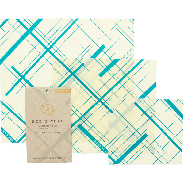 EarthHero - 6 Pack Assorted Beeswax Wraps - Everybody's Teal