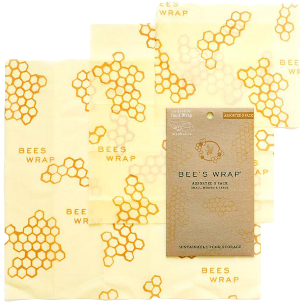 EarthHero - 4 Pack Assorted Beeswax Wraps - Original
