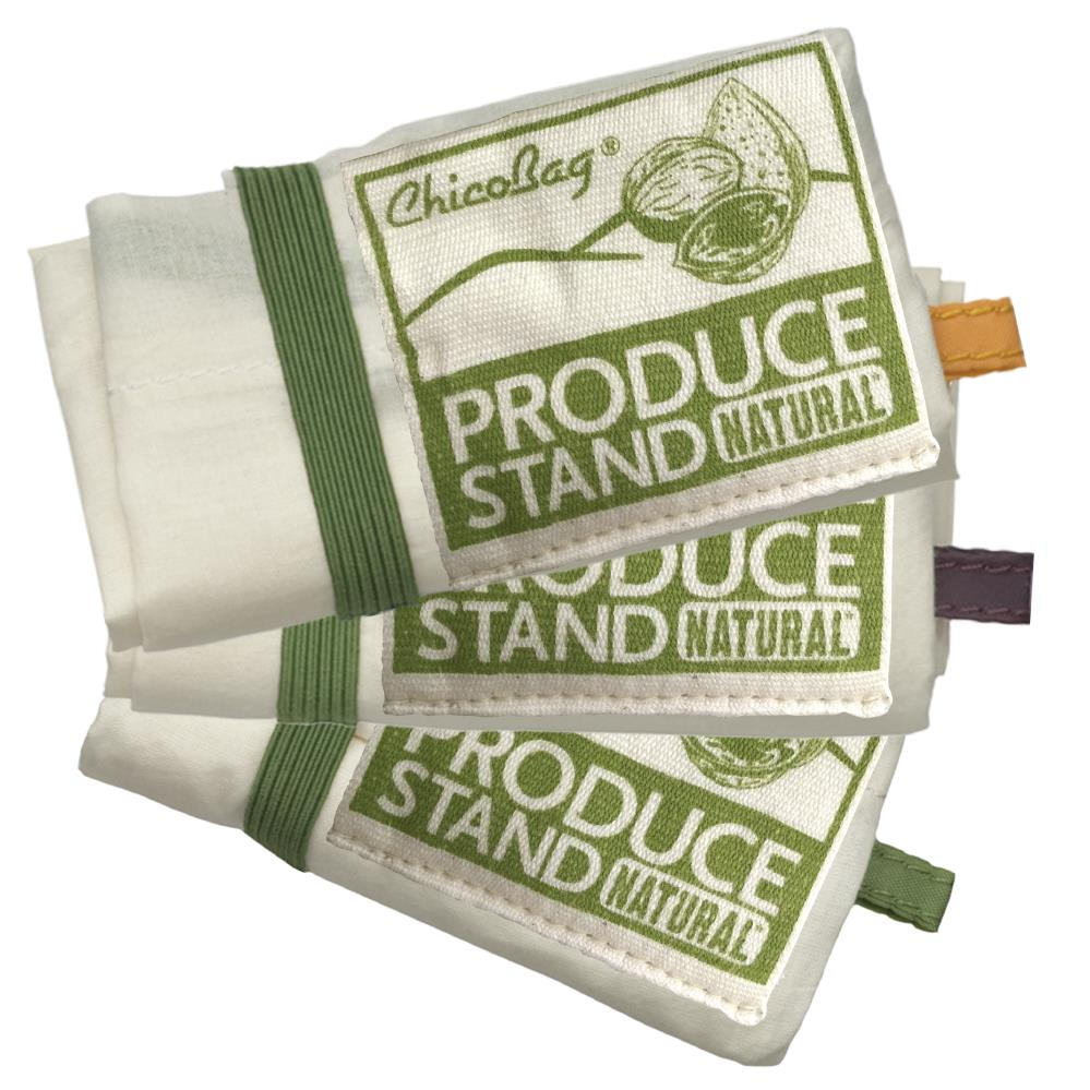 EarthHero - Produce Stand Reusable Natural Fiber Produce Bags (3pk) - 2