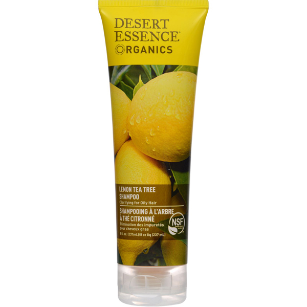 EarthHero - Lemon Tea Tree Desert Essence Shampoo -1