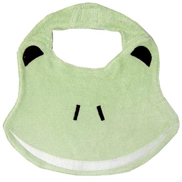 EarthHero - Organic Cotton Baby Bib Frog