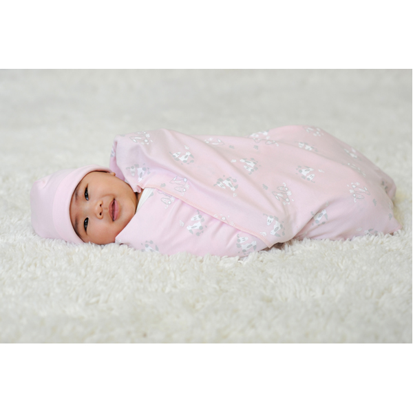EarthHero - Patterned Cotton Swaddle Blanket - 4