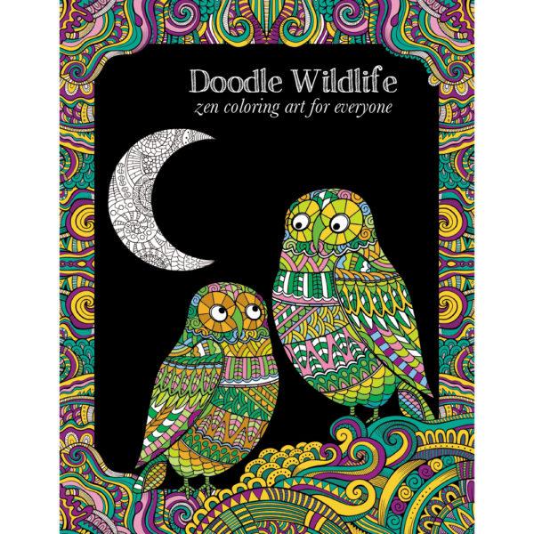 EarthHero - Wildlife Adult Coloring Book 1