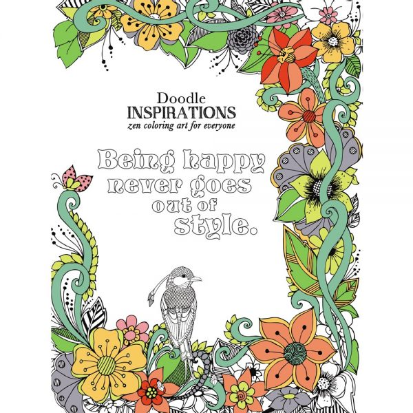 EarthHero - Inspirations Adult Coloring Book 1