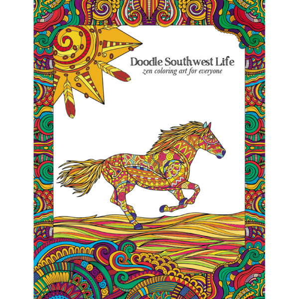 EarthHero - Great Southwest Adult Coloring Book 1