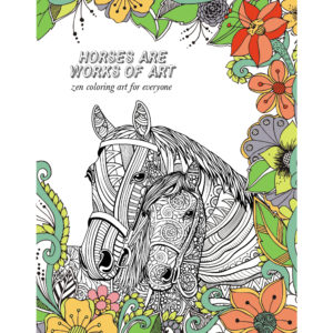 EarthHero - Horse Lovers Adult Coloring Book 1