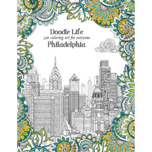 EarthHero - City of Philadelphia Adult Coloring Book 1