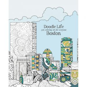 EarthHero - City of Boston Adult Coloring Book 1