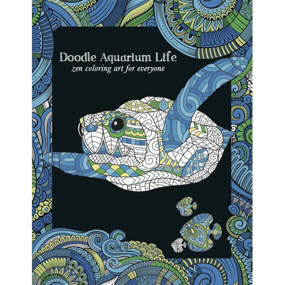 EarthHero - Aquarium Life Adult Coloring Book 1